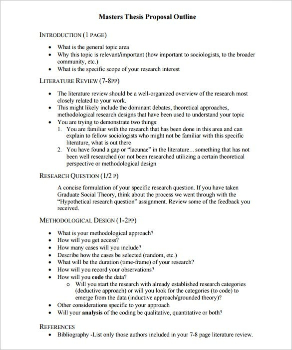 template for thesis proposal how to write a thesis proposal