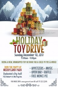 470+ Customizable Design Templates for Toy Drive | PosterMyWall