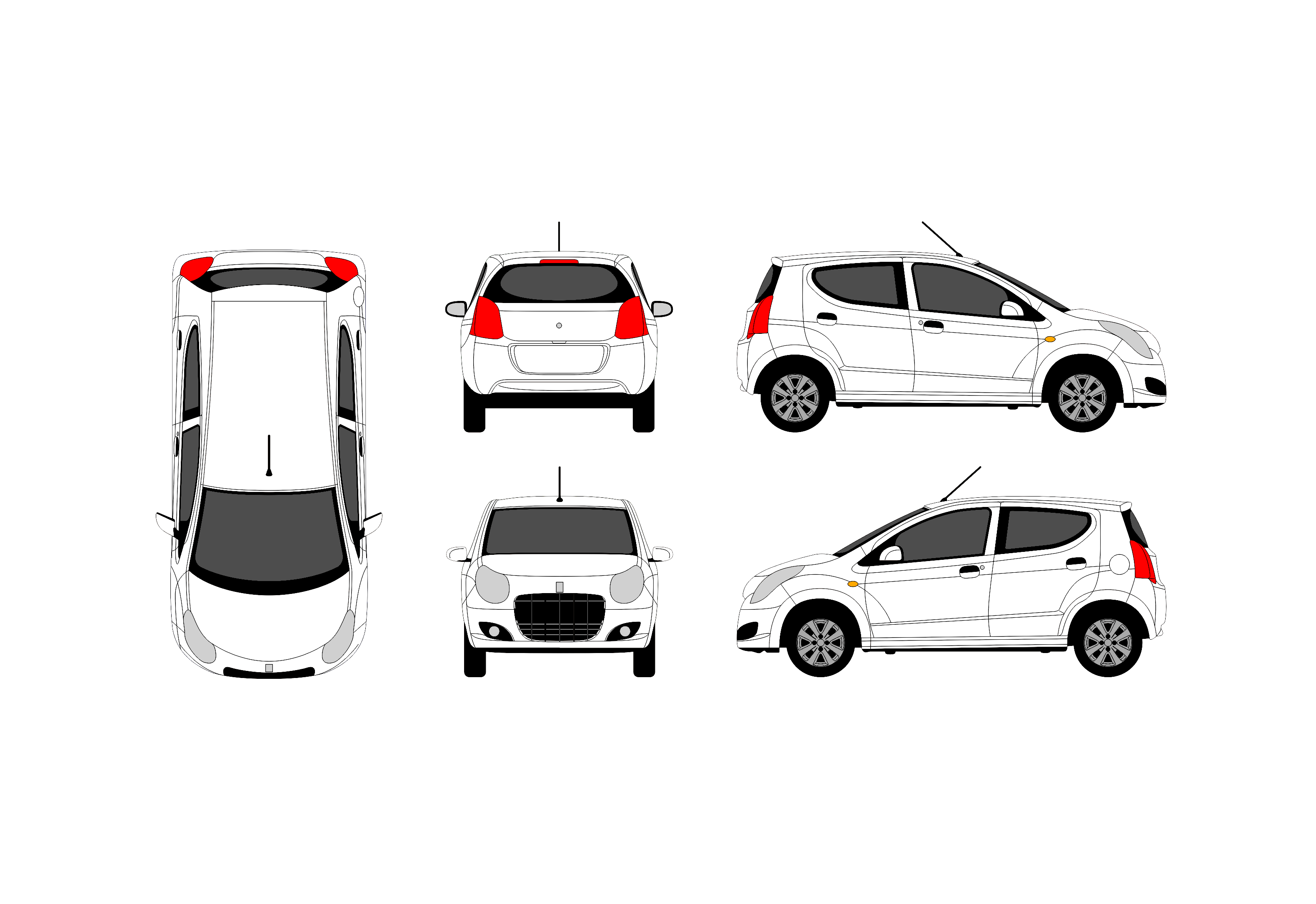 Free Vehicle Wrap Templates Photo In Unlock Free Vehicle Outlines