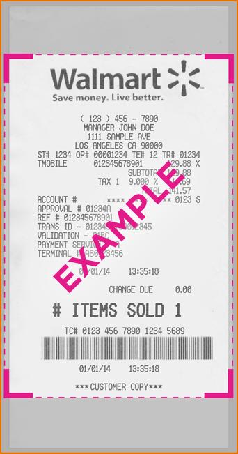Walmart Receipt Template Walmart Receipts | nuTemplates
