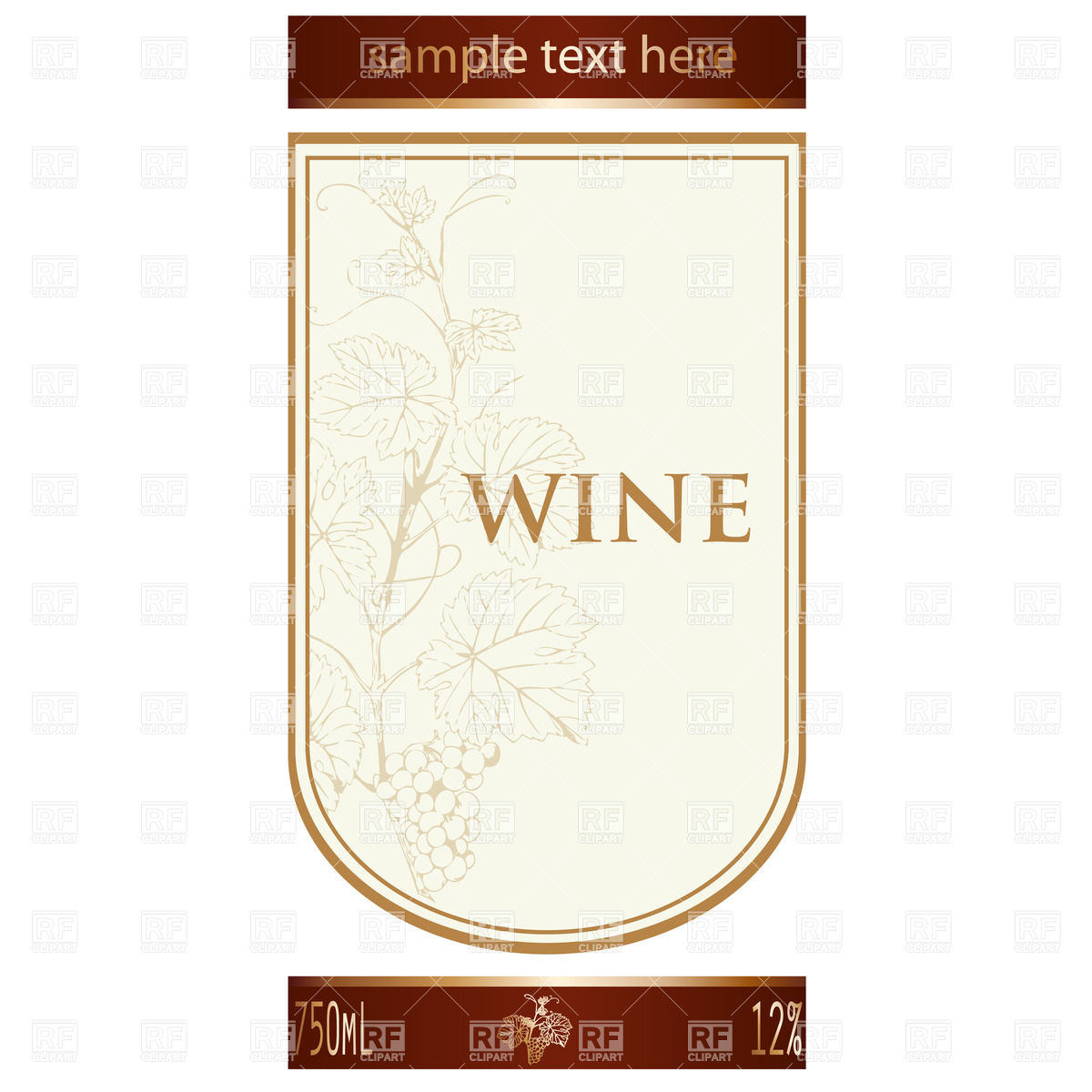 6 Free Printable Wine Labels You Can Customize | LoveToKnow